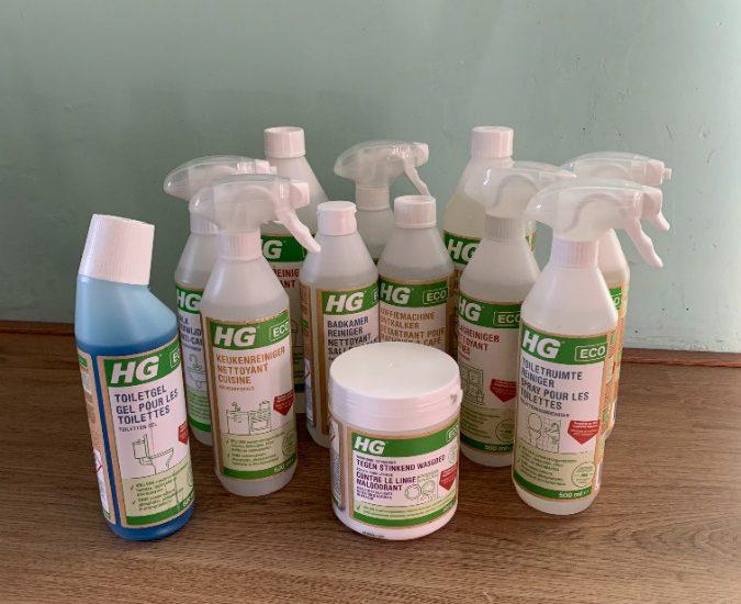 Duurzame en milieuvriendelijke schoonmaakproducten